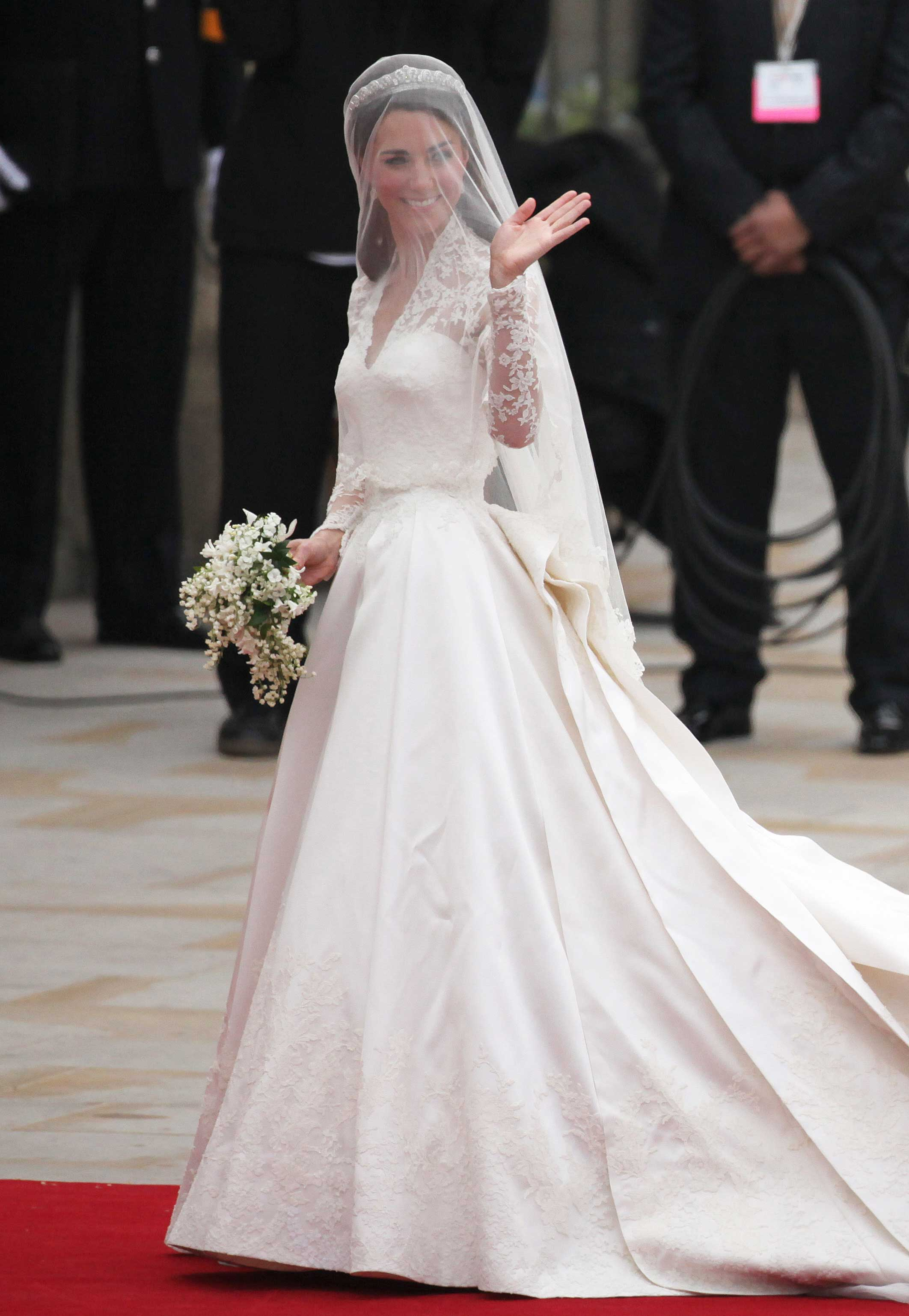 Google images for Princess catherine wedding dress