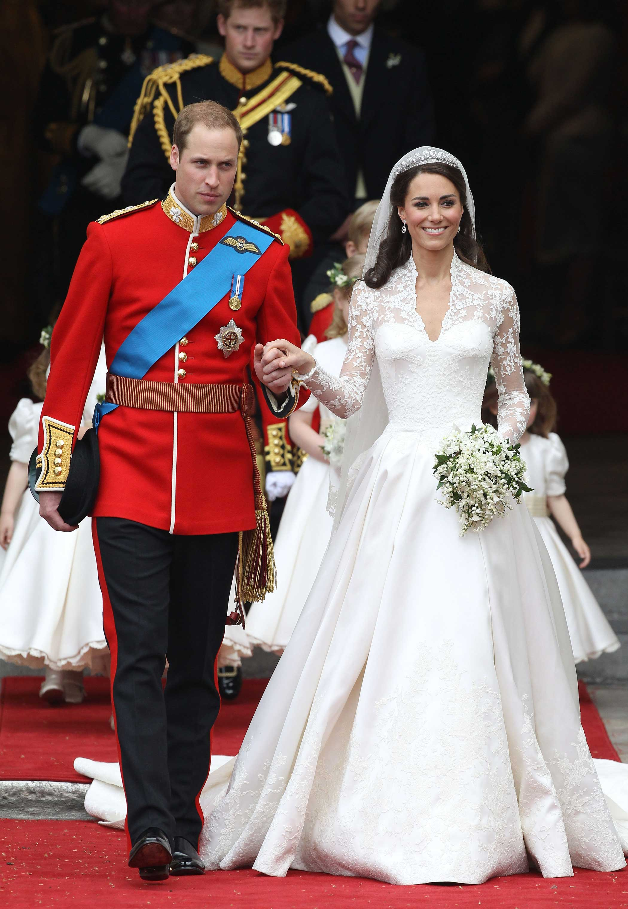 Royal Wedding Kate Middleton S Dress Time