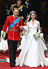 Royal Wedding - Kate Middleton in a Sarah Burton dress