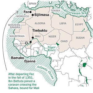 Timbuktu Location On World Map.The Sands And Waters Of Time Summer Journey 2011 Time