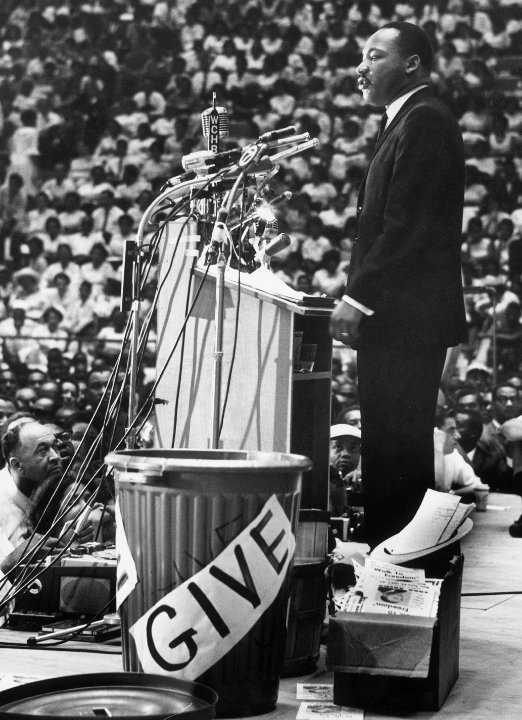 martin luther king speech at the great march on detroit june 1963 Martin luther king's i have a dream speech from the mach on martin luther king's address at march on of the same sections in detroit in june 1963.