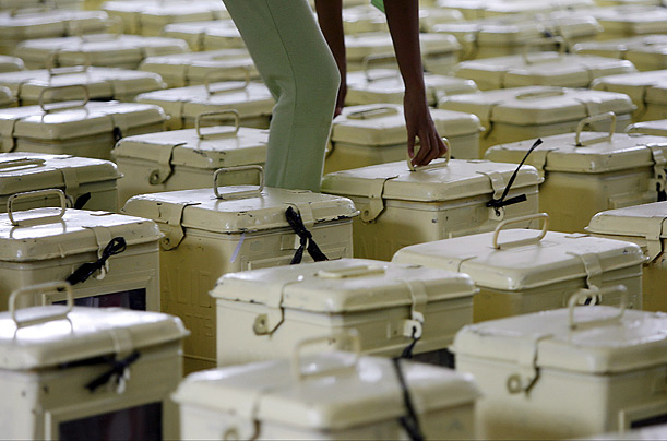 Ballot boxes Philippines
