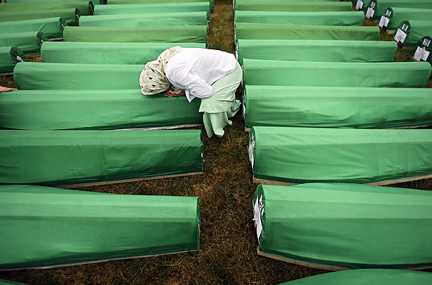 Pictures of the Week Srebrenica Bosnia Serbia