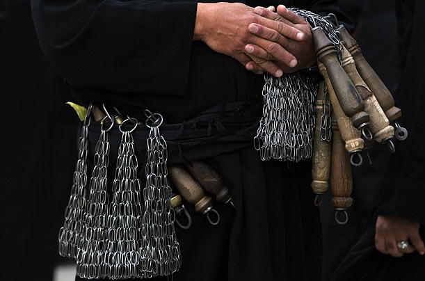 Self-flaggelation